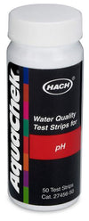 Hach 2745650 pH Test Strips | 4 - 9 pH Water Testing Equipment - Cleanflow