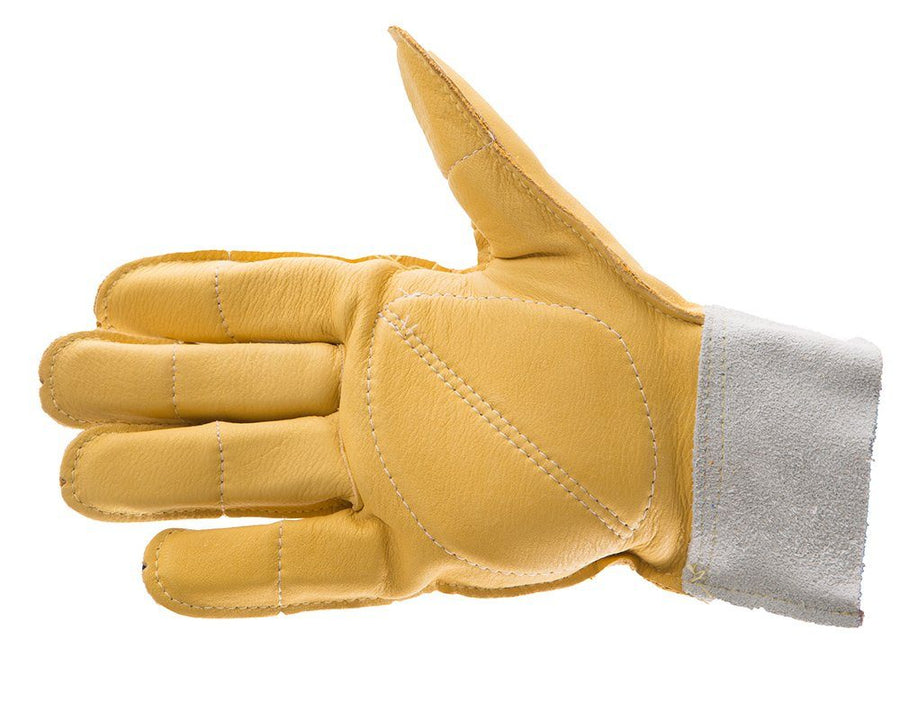 Impacto 615-20 All Leather Glove Ergonomics - Cleanflow