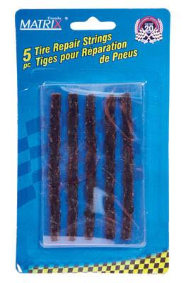 Tire Repair Strings, 5 Piece Automotive Tools - Cleanflow