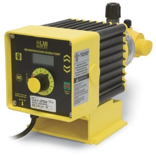 LMI Electronic B9 HI Series 4-20mA Controllable Chlorine Metering Pumps Chemical Metering Pumps - Cleanflow