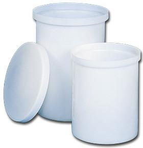 White Poly Chemical Storage Tanks with Lid Water Treatment Chemicals - Cleanflow