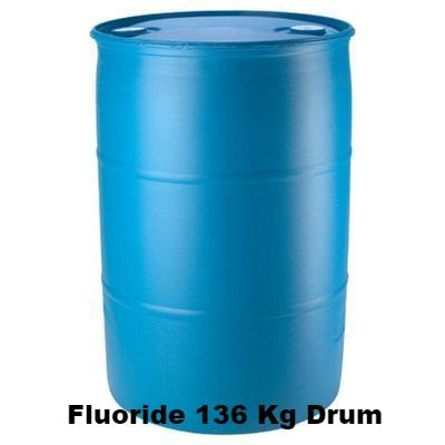 Hydrofluorosilicic Acid (Fluoride) | 136 Kg Small Drum Water Treatment Chemicals - Cleanflow