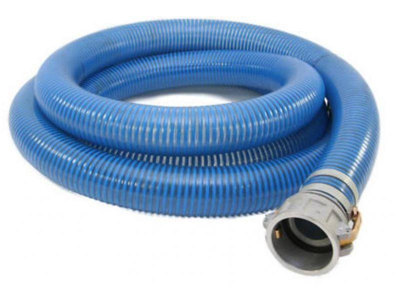 Blue Water Low Temperature PVC Hose Assemblies (w/ Male X Female Camlocks)