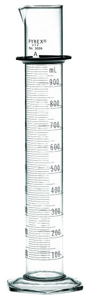 Pyrex Glass Graduated Cylinders Water Testing Supplies - Cleanflow