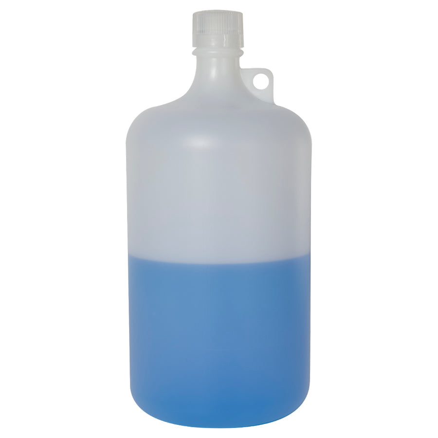 Nalgene Narrow Mouth Pass-Port IP2 HDPE Shipping Bottles with Caps Water Testing Supplies - Cleanflow