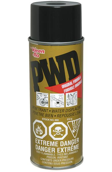 Kleen-Flo PWD Multi-Purpose Lubricant Spray Maintenance Supplies - Cleanflow