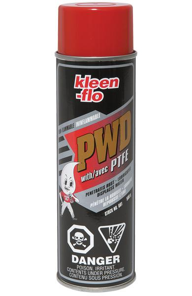 Kleen-Flo PWD Multi-Purpose Lubricant Spray with PTFE (Teflon) Maintenance Supplies - Cleanflow