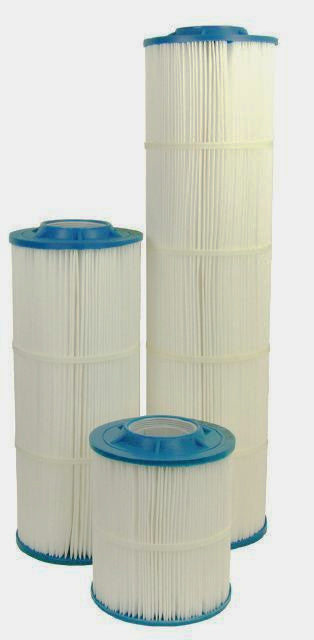 "Harmsco 30"" x 7.75"" OD Hurricane NSF Pleated Polyester Sediment Filters 