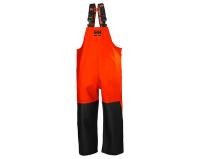 Helly Hansen Storm Rain Bib | Orange | Sizes XS-4XL Work Wear - Cleanflow