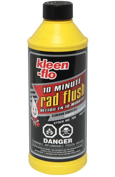 Kleen-Flo Ten Minute Rad Flush Maintenance Supplies - Cleanflow