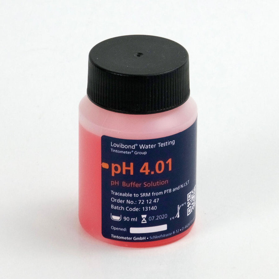 Lovibond pH 4.01 Buffer Solution  | Red | 90 mL