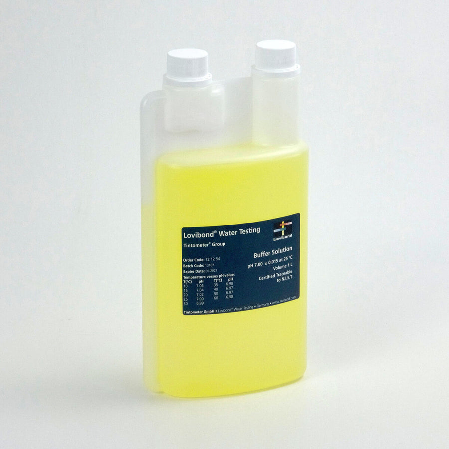 Lovibond pH 7.00 Buffer Solution  | Yellow | 1 Liter