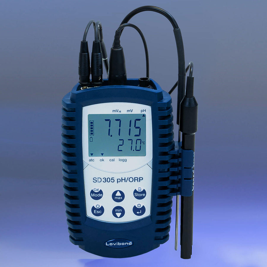 Lovibond SD 305 Portable pH/ORP/Temperature Kit