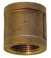 Lead Free Cast Brass Female Coupling Pipe Fittings Fittings and Valves - Cleanflow