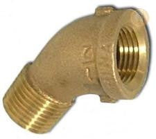Lead Free Cast Brass Street 45° Elbow Pipe Fittings Fittings and Valves - Cleanflow