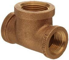 Lead Free Cast Brass Tee Pipe Fittings