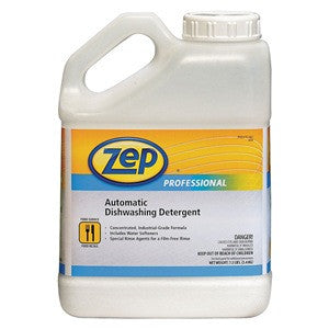 Zep Heavy Hitter Commercial Dishwasher Detergent | 1 Gallon | Cs/4 Janitorial Supplies - Cleanflow