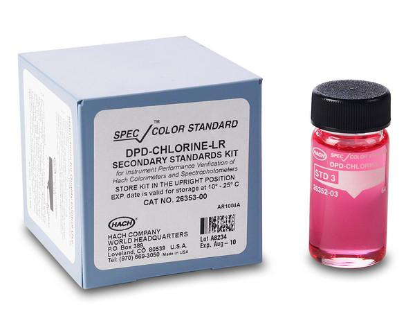Hach SpecCheck Secondary Gel Standards Set for DPD Chlorine Water Testing Equipment - Cleanflow
