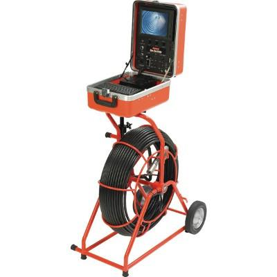 General Pipe Cleaners Gen-Eye USB-W Premium Video Pipe Inspection System w/ USB and Wi-Fi Pipe Cleaning and Thawing - Cleanflow
