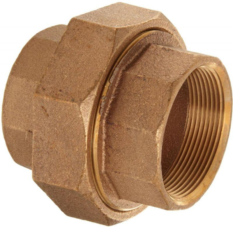 Lead Free Cast Brass Union Pipe Fittings