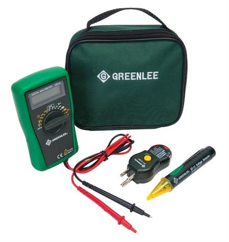 Greenlee TK30GFI Basic Electrical Test Kit with GFI Test Hand Tools - Cleanflow