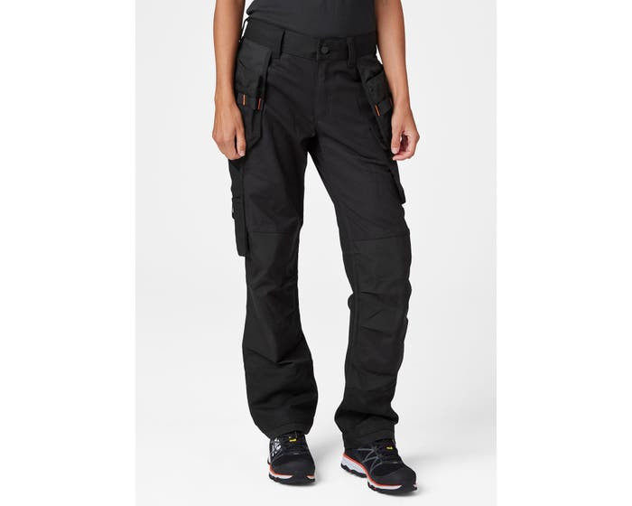 Helly Hansen Women's Luna Construction Pant | Black | Sizes 4 to 18 Work Wear - Cleanflow