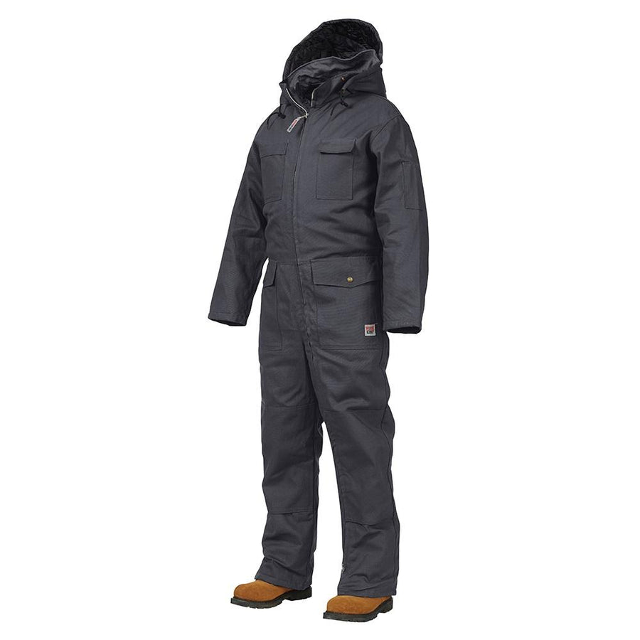Work King 7760 Deluxe Insulated Cotton Duck Coveralls | Black | S-5XL
