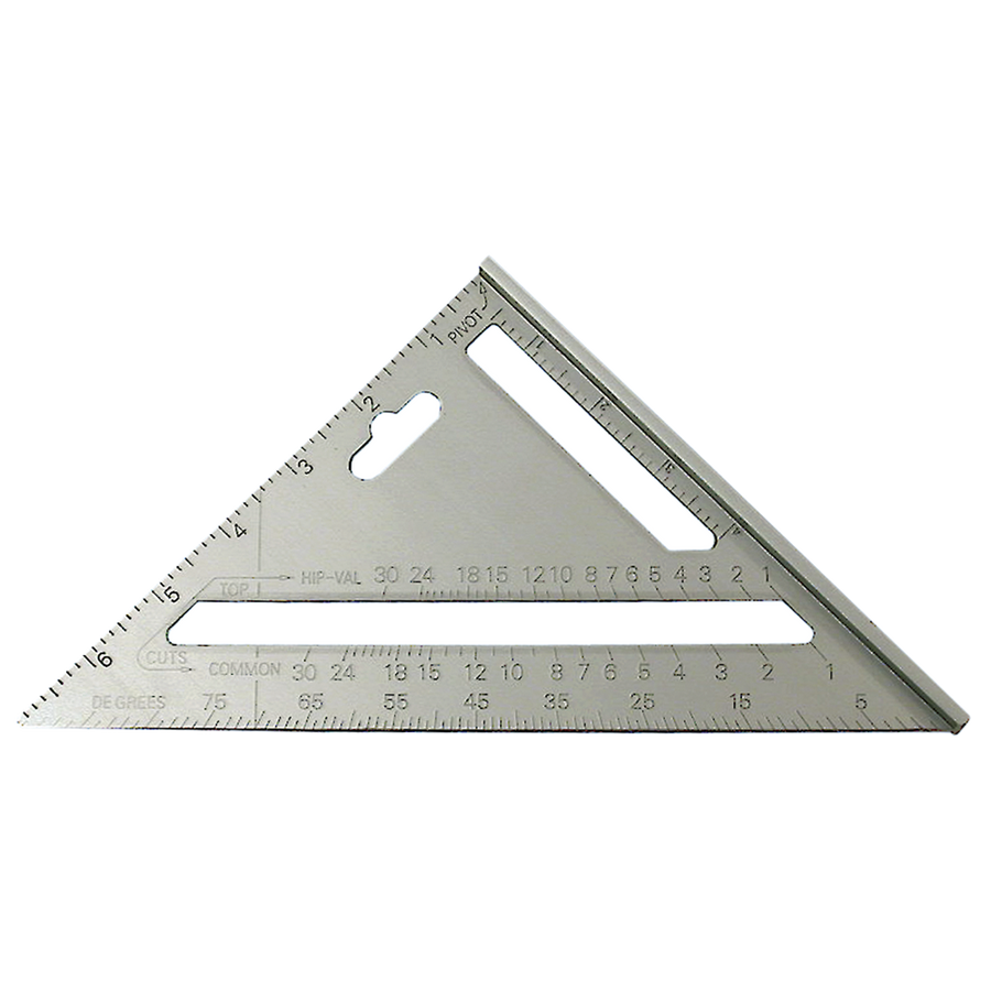 "Jet Rafter Angle Square - 7"" x 10"" Triangle Hand Tools - Cleanflow"
