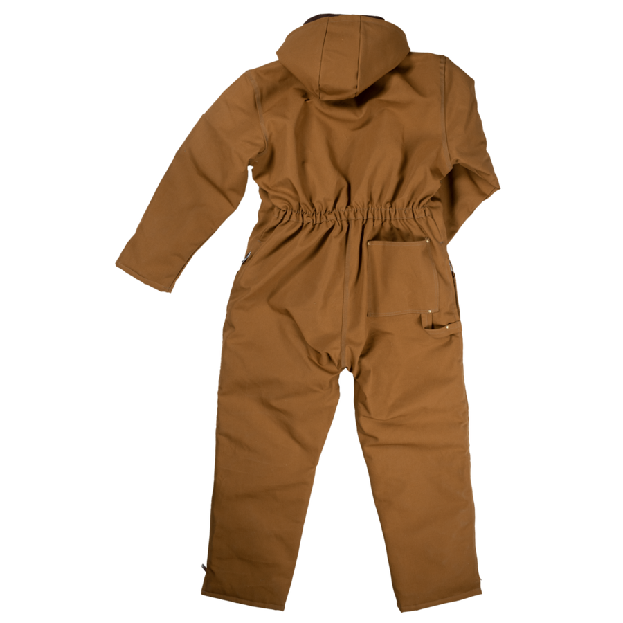 Tough Duck 7838 Heavyweight Deluxe Insulated Coveralls | Brown | Limited Size Selection Work Wear - Cleanflow