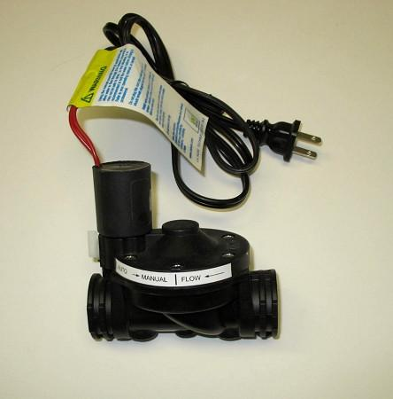 "Hallett 30 | 1"" Nylon Solenoid Shut-Off Valve 