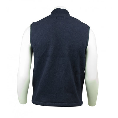 KELTEK 7985V Flame Resistant Fleece Vest | Navy | S-4XL (HRC 2) Flame Resistant Work Wear - Cleanflow