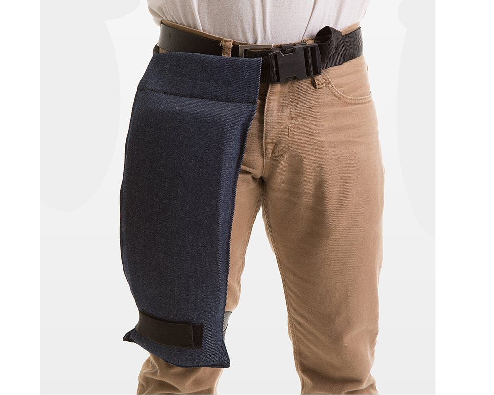 Impacto 808-00 Denim Thigh Protector Ergonomics - Cleanflow