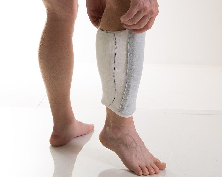 Impacto 810-10 Pull-On Shin Protector Ergonomics - Cleanflow