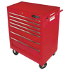 "Jet Pro Series Mechanic's Roller Cabinet - 7 Drawers - 27"" x 18"" Shop Equipment - Cleanflow"