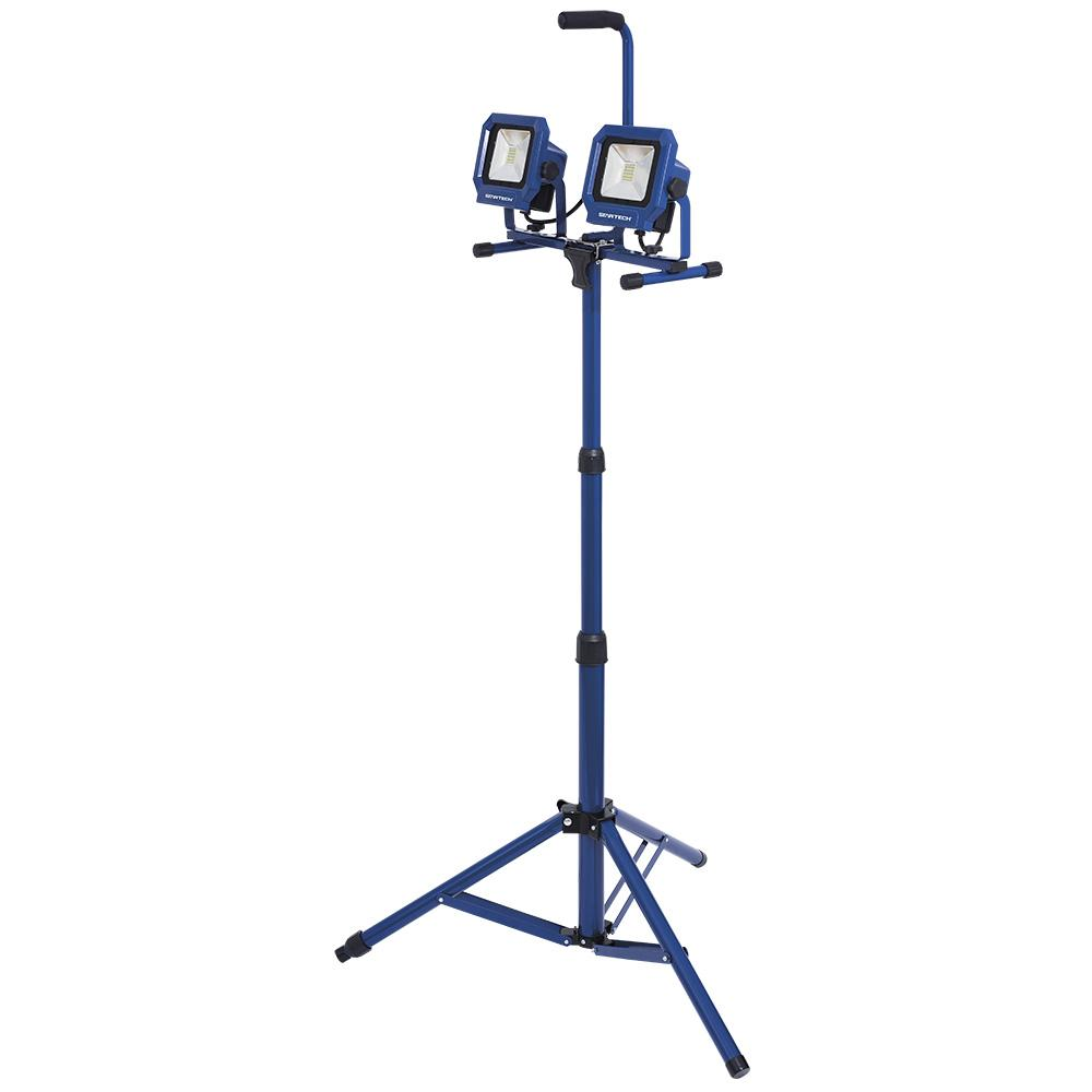 Startech Dual Work Site Light with Heavy Duty Tripod | 4,000 Lumens Facility Equipment - Cleanflow