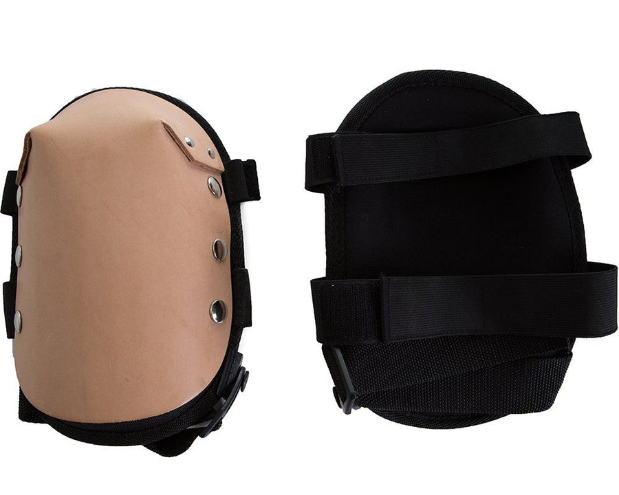 Impacto 865-20 Gel Comfort Leather Cover Knee Pads Ergonomics - Cleanflow