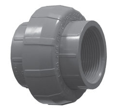 Lasco Schedule 80 PVC Threaded Union Couplings | FPT x FPT