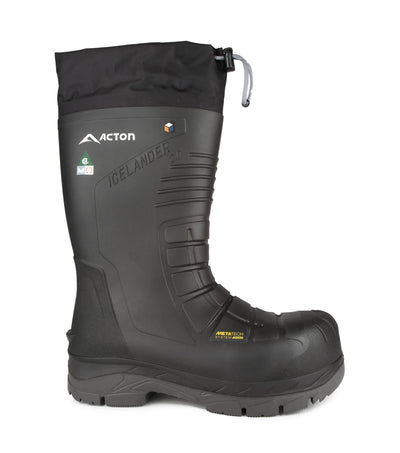 Acton Icelander 2.0 Slip Resistant Waterproof Winter Safety Work Boots | Sizes 7 -14 - Cleanflow