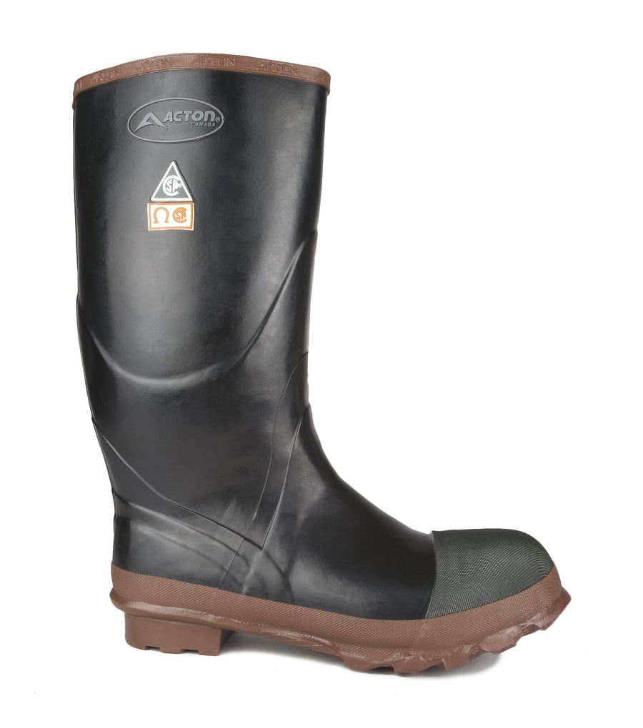 Acton Protecto Natural Rubber Safety Boot | Sizes 3-14 Work Boots - Cleanflow