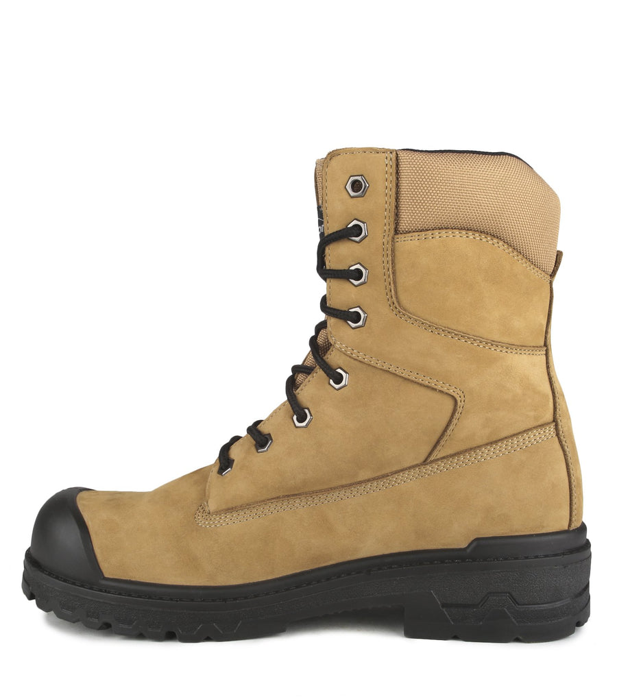 "Acton Prolite 8"" Leather Safety Work Boots 