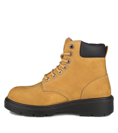 Acton ProLady Women's Safety Work Boots | Tan | Sizes 5 to 11 Work Wear - Cleanflow
