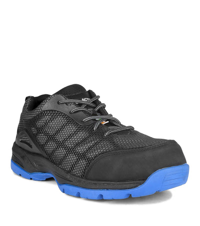 Acton Profusion Indoor Safety Work Shoes | Blue Tinted | Sizes 7-15 Work Boots - Cleanflow
