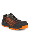 Acton Profusion Indoor Safety Work Shoes | Orange Tinted | LImited Size Selection Work Boots - Cleanflow