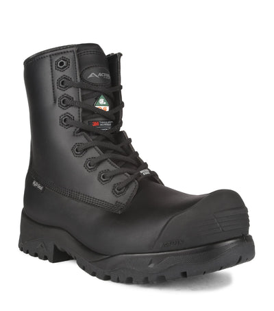 "Acton Electric 8"" Chemtech Winter Safety Work Boots 