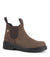 "Acton Profile 6"" Steel Toe Brown Leather Chelsea Safety Work Boots 