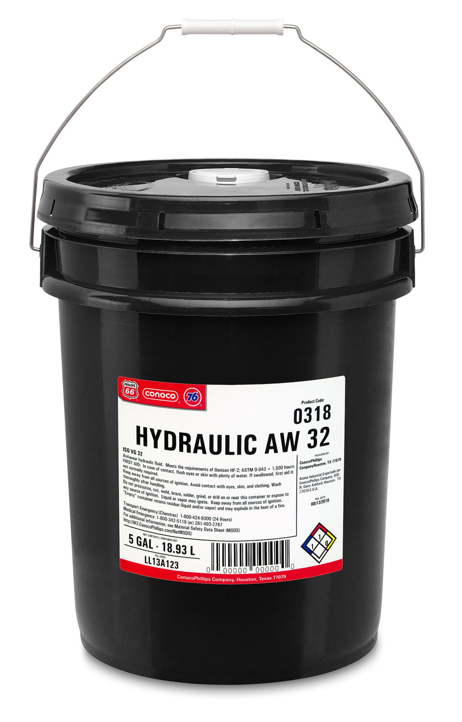 AW32 Hydraulic Oil | 18.17 L Pail Maintenance Supplies - Cleanflow