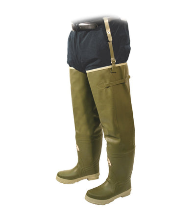 Acton Prairie Hip Plain Toe Insulated Hip Waders | Sizes 7 - 13 Work Boots - Cleanflow
