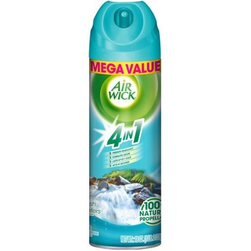 Airwick Fresh Waters Mega Size Air Freshener | 510 Gram - Case of 6 Janitorial Supplies - Cleanflow