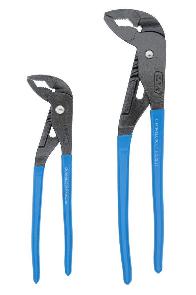 ChannelLock GLS-1 Griplock Plier Set - 2 Piece Mechanic Tools - Cleanflow