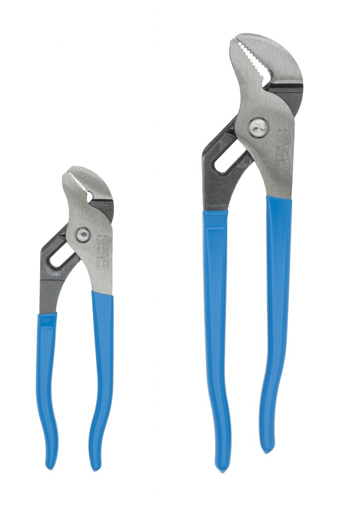 ChannelLock GS-1 Straight Jaw Tongue & Groove Plier Set - 2 Piece Mechanic Tools - Cleanflow